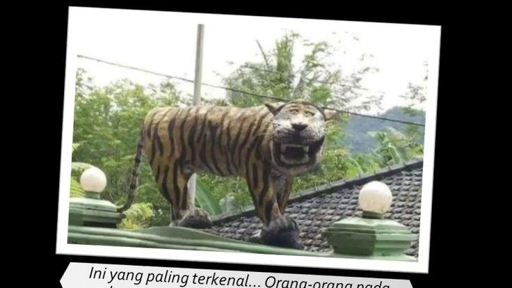Foto Patung Macan Lucu & Bikin Ngakak Yang Jadi Viral