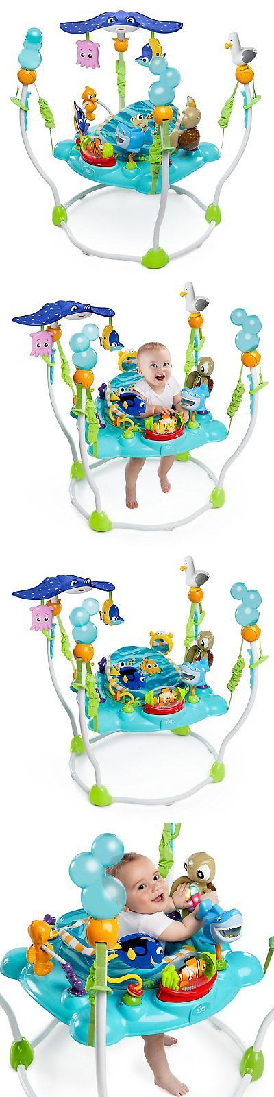 Baby Jumping Exercisers 117032: Baby Finding Nemo Activity Seat Jumper Bouncer Jumperoo Exersaucer Toy Station -> BUY IT NOW ONLY: $133 on eBay!