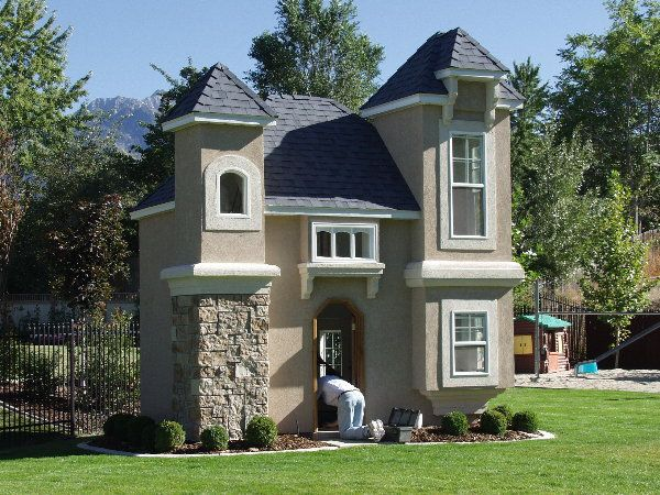 203 best images about babbles and baby dolls stuff on for Backyard clubhouse plans