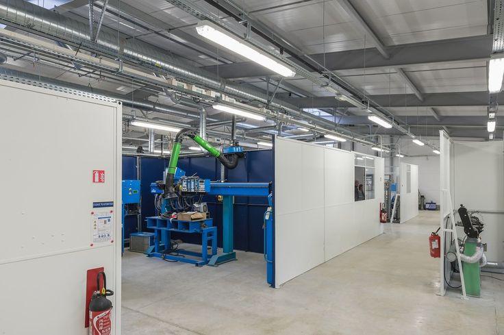 Bâtiment industriel clé en mains, 1350 m², vente par #Legoupil Industrie.