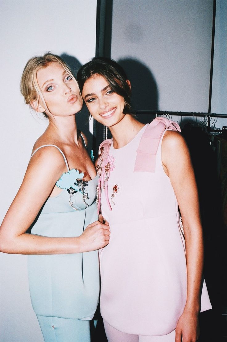 Our September, 2015 cover, revealed! Meet Victoria's Secret Angels Taylor Hill and Elsa Hosk | Fashion | FASHION Magazine |