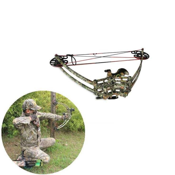 2018 Archery Hunting Camouflage Compound Bow Right Or Left Hand Bow Set 27 Inch Draw Length 50lbs Draw Weight 270fps From Toparchery, $196.98 | Dhgate.Com