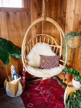 Cohanga Hanging Chair by Justina Blakeney from Mediterranean Style on Gilt