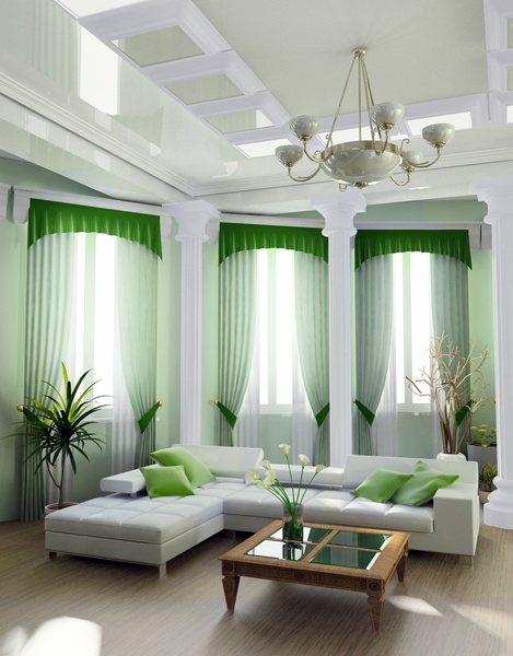 Decorating Great Room Living Area: Decorating A Great Room With Cathedral Ceilings