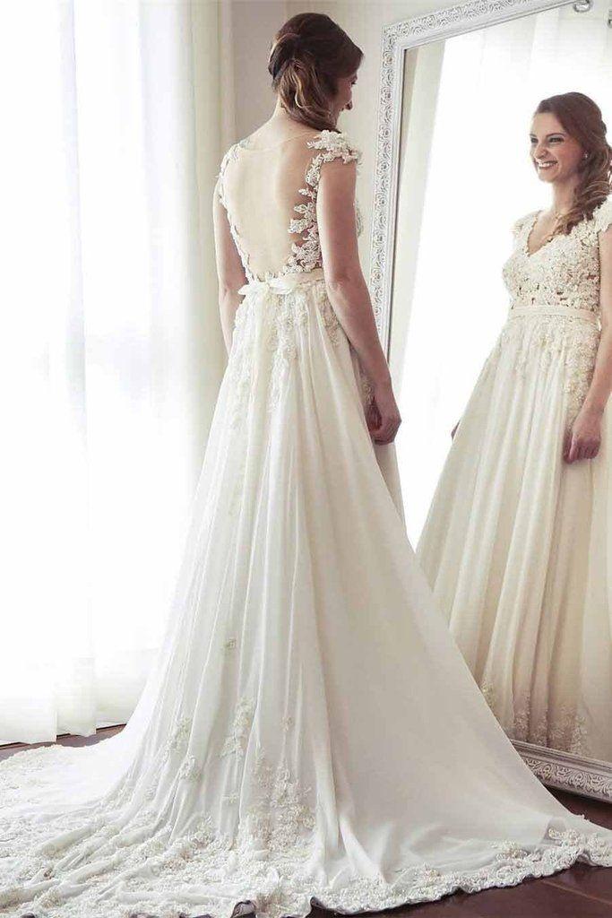 30 besten Wedding Dresses Bilder auf Pinterest   Hochzeitskleider ...