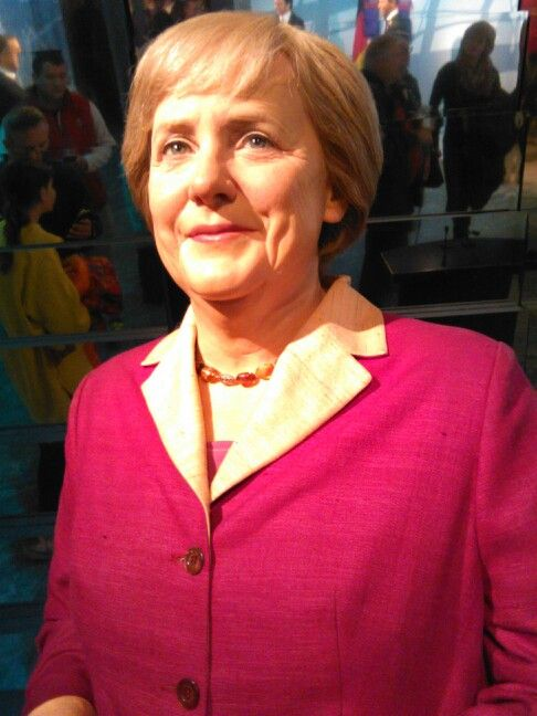 Angela merkel madam tussaud