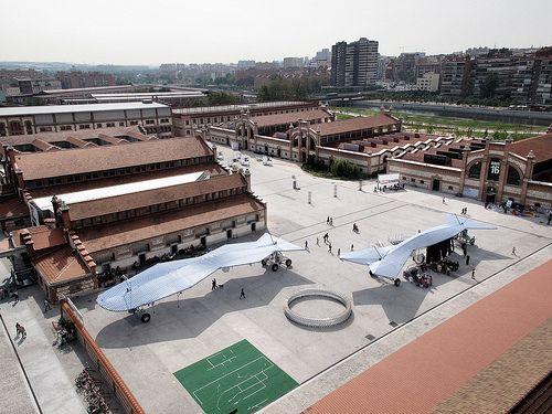Aerial view Matadero - Madrid