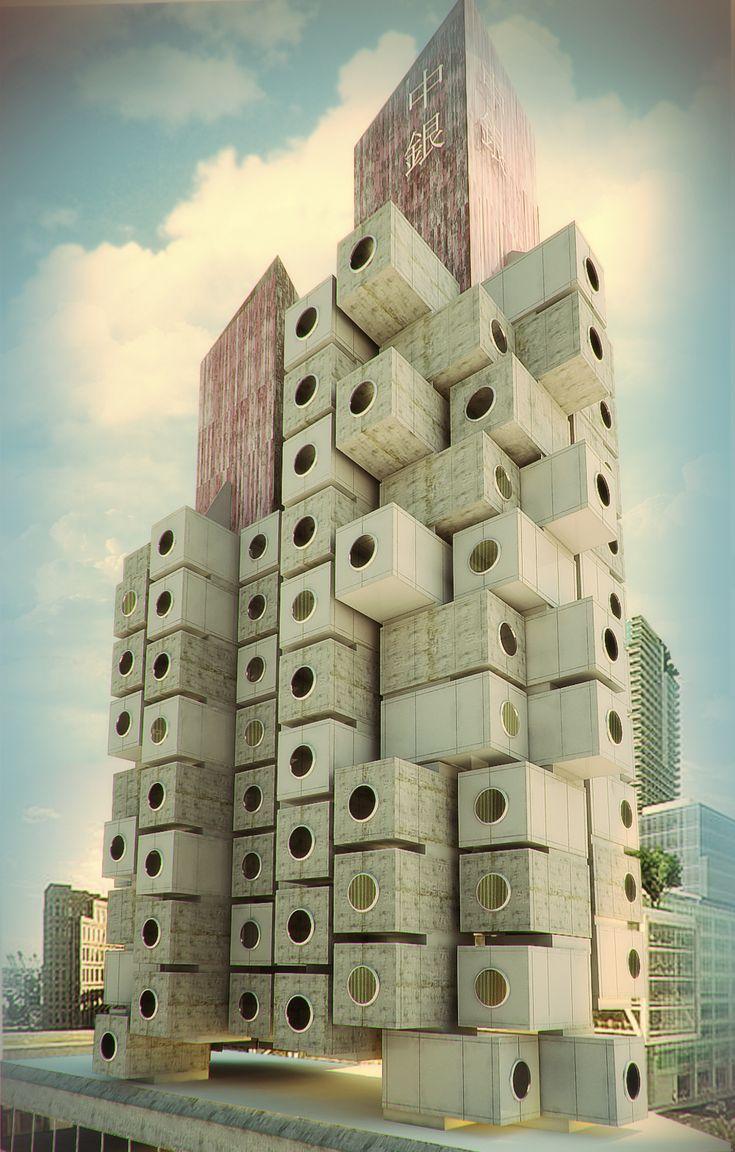 nakagin capsule tower - Google Search | Studio Inspiration ...