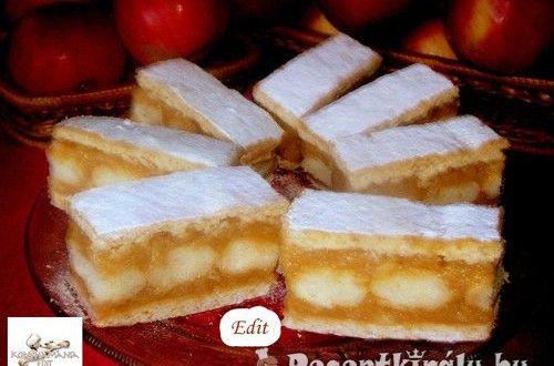 Almás–mézes sütemény | Receptkirály.hu