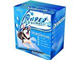 Petpop Super-Absorbent Puppy Pads and 22 by 22 Inches Dog Training Pad for Puppy Housebreaking -100 Count of Pads