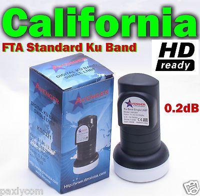 New Single Standard Linear Ku Band LNBF 0.2dB FTA Satellite Dish LNB  for USD7.90 #Consumer #Electronics #TV #Satellite  Like the New Single Standard Linear Ku Band LNBF 0.2dB FTA Satellite Dish LNB ? Get it at USD7.90!