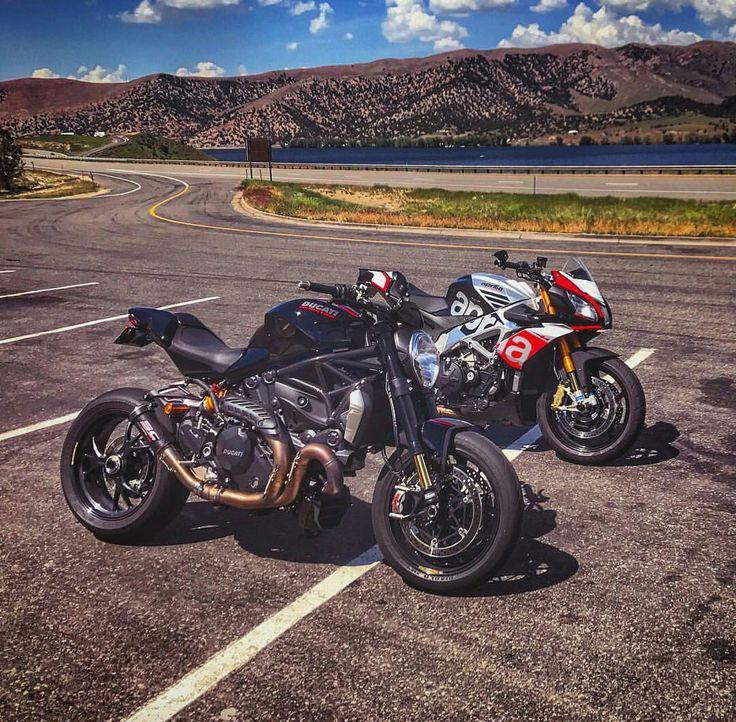 Ducati Monster 1200 R vs Aprilia