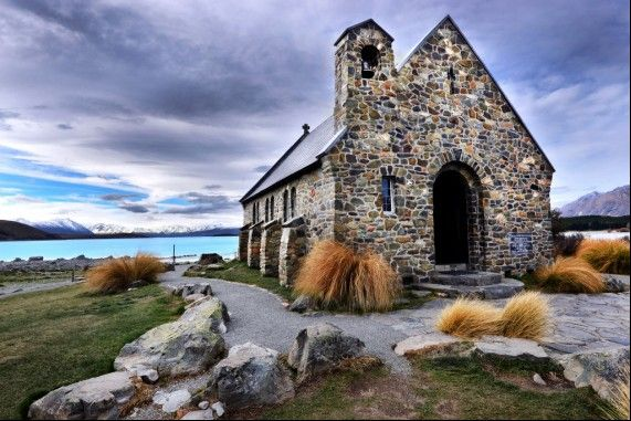 Church of the Good Shepherd in New Zealand!