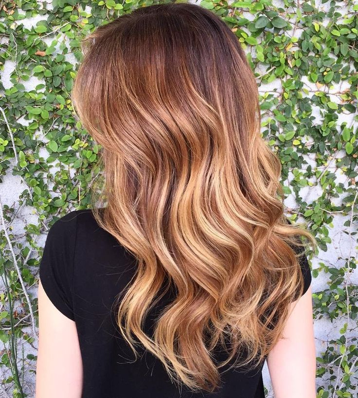Brown+Hair+With+Strawberry+Blonde+Highlights