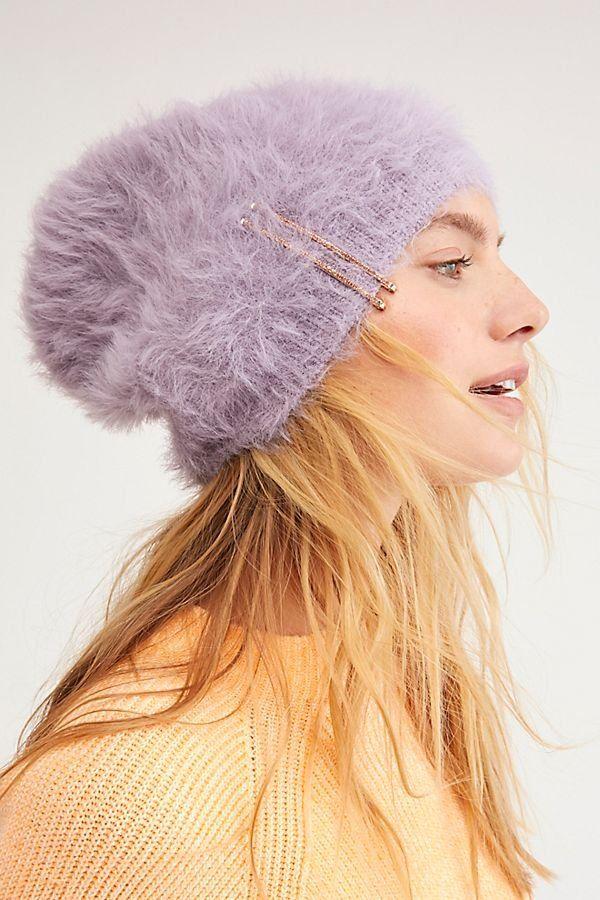 3d8af90476b FP One Big Sky Slouchy Beanie - Super Soft Fuzzy Purple Slouchy Beanie - Slouchy  Beanies - Fuzzy Beanies - Purple Hats - Winter Hats for Women - Cute Winter  ...
