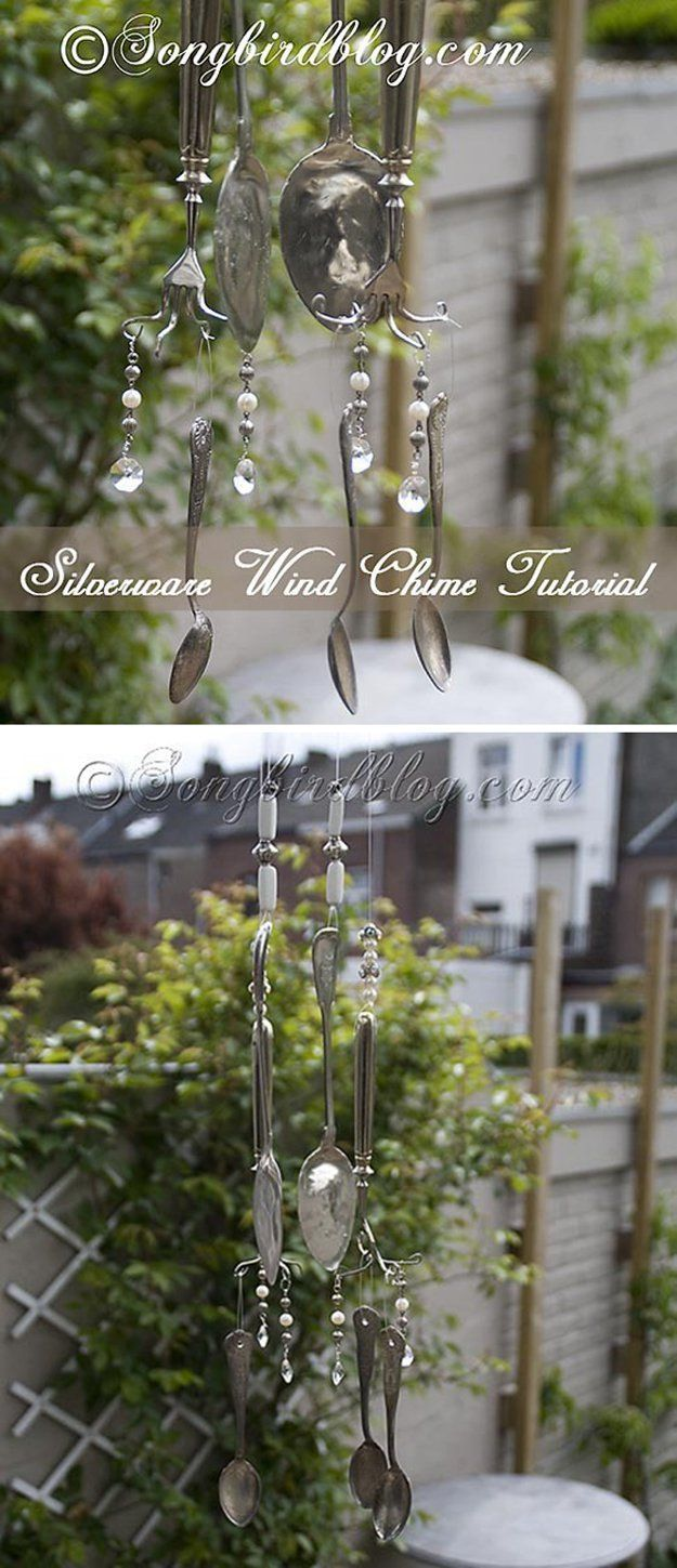 10 best ideas about homemade wind chimes on pinterest for Wind chime ideas