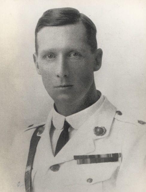 Captain (Brevet Major) Edward Bamford VC DSO Royal Marine Light Infantry, c1918