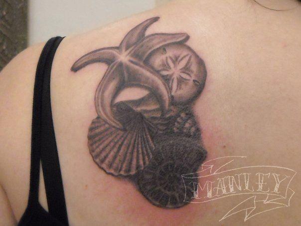 shell tattoos | looking for unique bio organic tattoos space eels sea shells