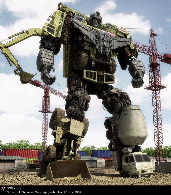 Transformers DEVASTATOR - Created by Javier Carabajal