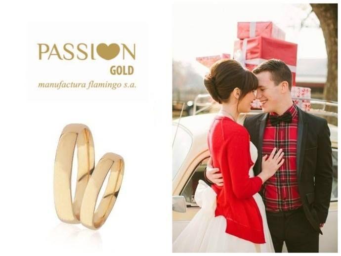 Este Natal ofereça amor,ofereça PASSI♥N GOLD!!!  Alianças de Casamento Passi♥n Gold