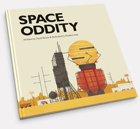 Space Oddity as a children's book