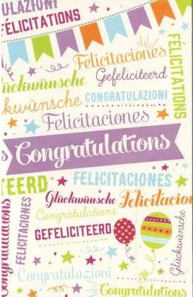 hartelijk gefeliciteerd alle talen