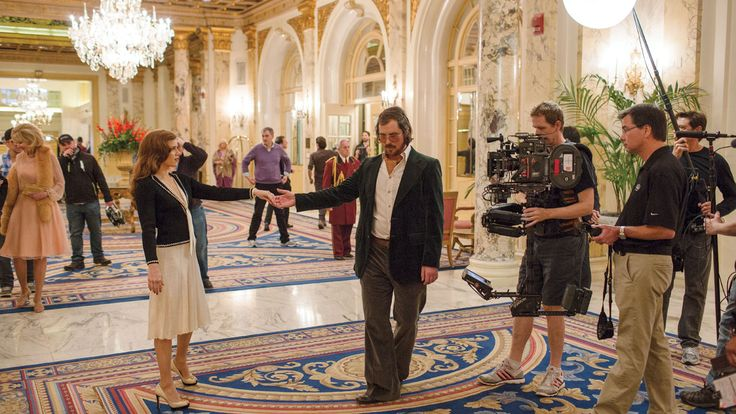 'American Hustle': Behind the Scenes With Christian Bale, Amy Adams
