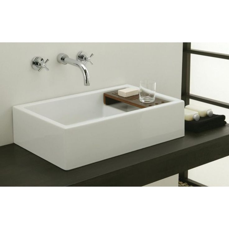 Comby 61 x 39 counter  top ceramic wash basin