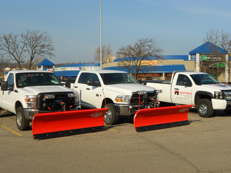 SnoPro Snowplows ready for winter work. Sold and
