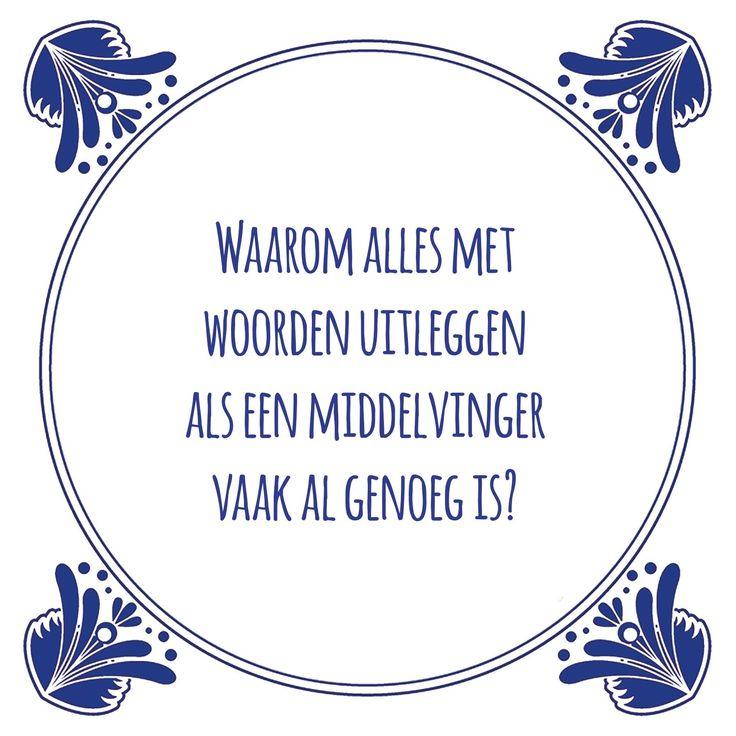 Tegeltjeswijsheid.nl - een uniek presentje - Waarom alles met woorden uitleggen