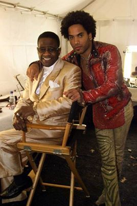Al Green and Lenny Kravitz.-- Al Green from Forrest City, Ark.