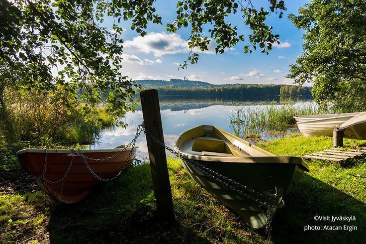 Lake Tuomiojärvi. ©Visit Jyväskylä Photo: Atacan Ergin.