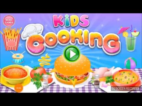 fun cooking game for kids to play and enjoy -  Happy Meal, Hamburger