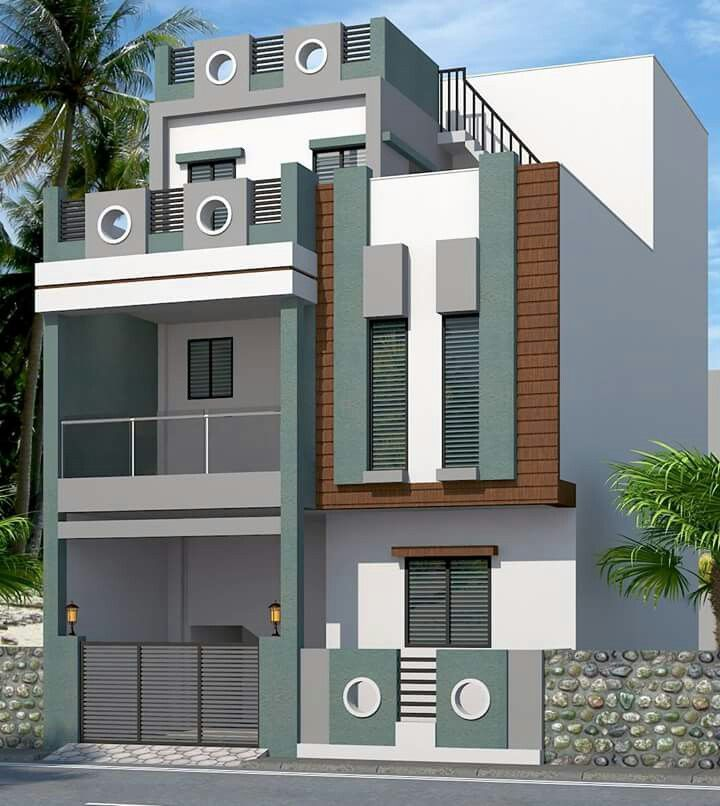 518 Best House Elevation Indian Compact Images On