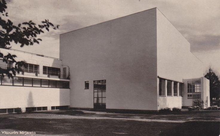 Alvar Aalto, Viipuri Library, 1935