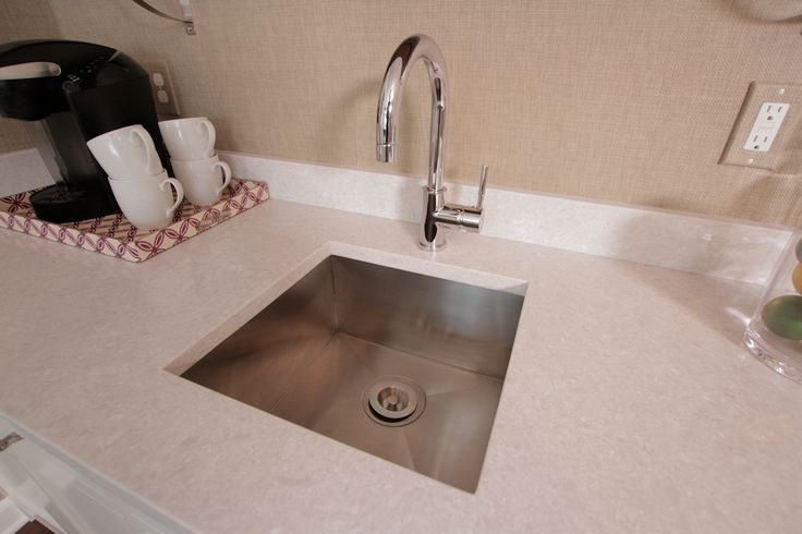 Julie adam 39 s brand new countertop featuring wilsonart for German kitchen sink brands