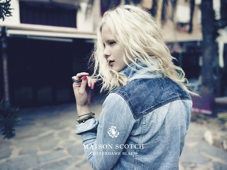 See more Amsterdams Blauw denim style at www.scotch-soda.com