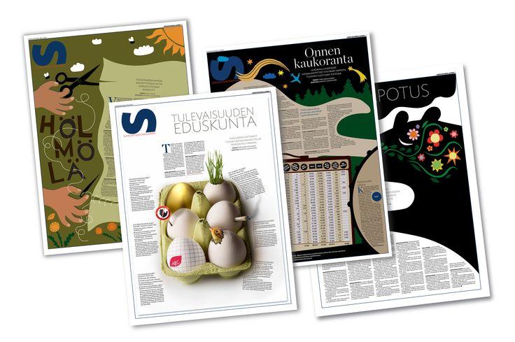 Susun graafikko Anniina Louhivuori sai SNDS:n kunniamaininnan portfoliostaan.