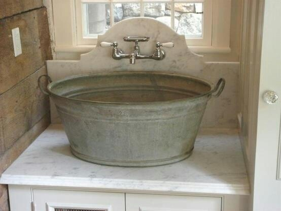 152 best images about Rustic bathrooms on Pinterest