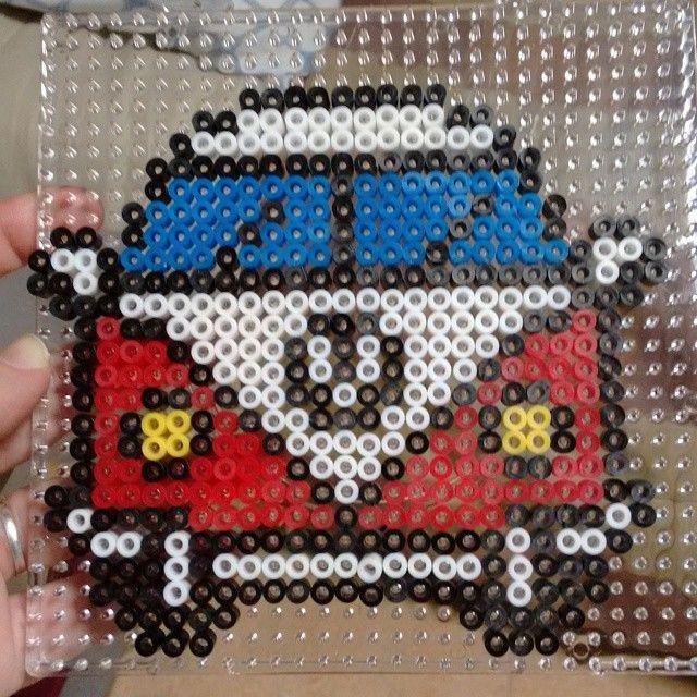 VW van hama beads by sangamu22