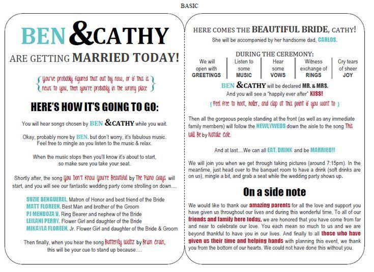 Best 25+ Free wedding templates ideas on Pinterest Wedding - program templates word