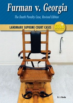 Should the death penalty be considered cruel and unusual punishment? This was the question brought before the United States Supreme Court in 1972. In FURMAN V. GEORGIA: THE DEATH PENALTY CASE, author D. J. Herda examines the ideas and arguments behind this landmark case. Presented in a lively, thought-provoking overview, Herda brings to life the people and events of this controversial decision and sheds light on the current controversy still raging across the country today.