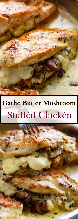 Chickén with mushrooms and mushrooms   – carolyn special dishes