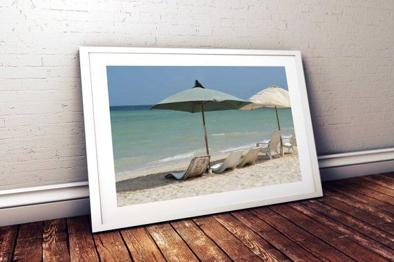 Beach Chairs Calling My Name With Images Beach Wall Art