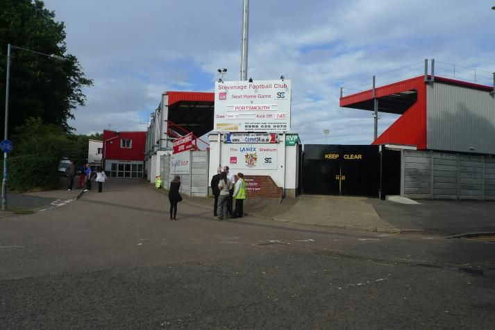 Broadhall Way - External - Stevenage FC