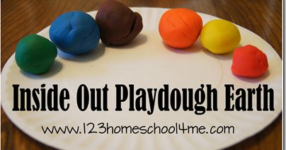 Earth Science Experiments for Kids - Kids will have fun learning about the Layers of the Earth with inside out playdough earth, cupcake layers, and so much fun with these science projects for homeschooling