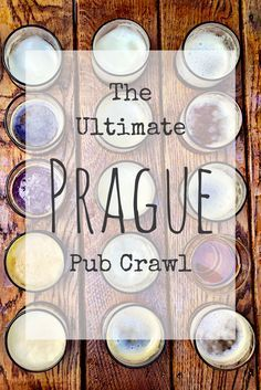 Prague's best bars. Get your party on at the best bars in Prague. The ultimate Prague pub crawl.