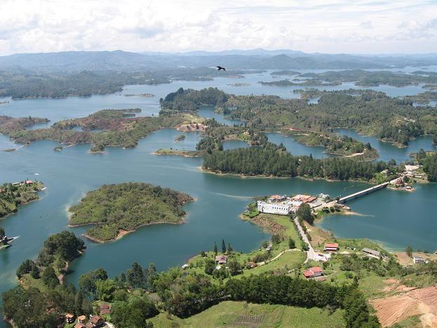 El Penol Lake near Medellin - Colombia