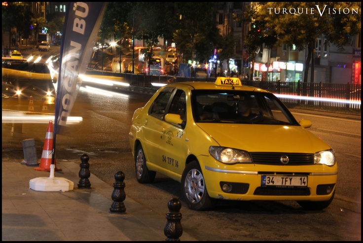 Taxi stambouliote.