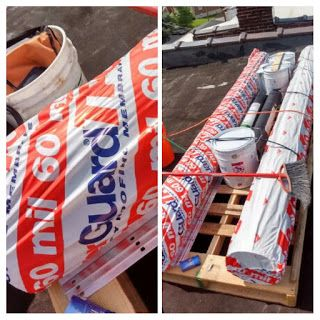 Roof Top Delivery Makes It Easy StLouis Roofing White TPO Eco Friendly See  Travis Roofing Supply